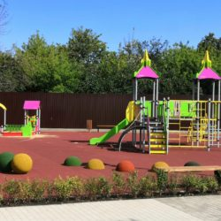 Ограждение для детской площадки