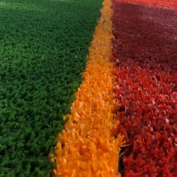 Покрытие искусственная трава для спортивных площадок