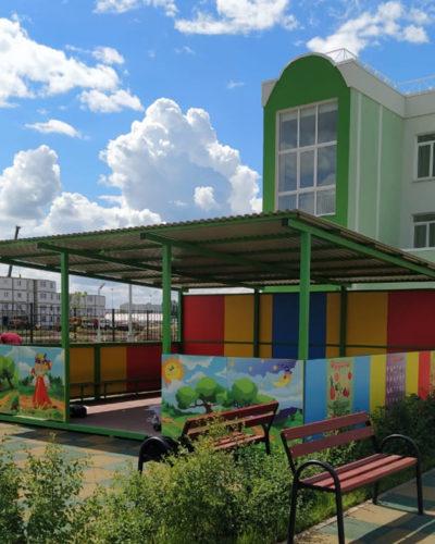 Объект: Детский сад, застройщик ООО «ВЫБОР»