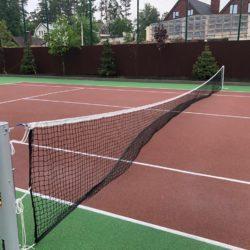 Покрытие теннисного корта из резины