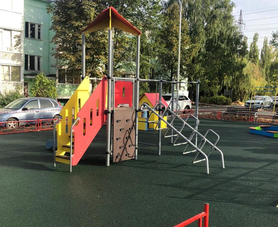 Объект: Благоустройство дворовых территорий г. Семилуки