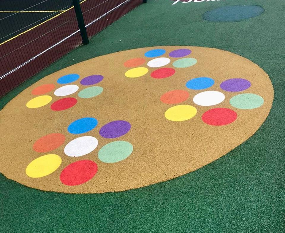 Объект: Детский сад «Премьер» спортивная площадка