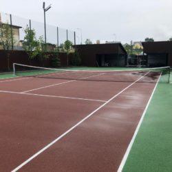 Покрытие теннисного корта Хард