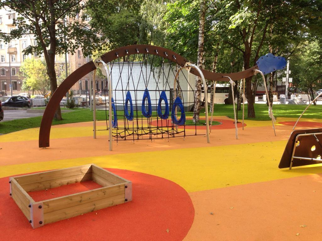 Ошибки при проектировании ударопоглощающих покрытий для детских площадок